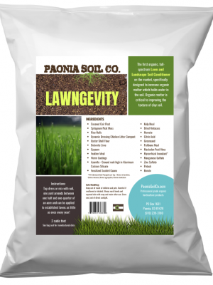 Lawngevity™<br> from Paonia Soil Co.